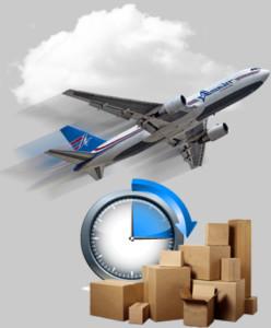 todas as vantagens da entrega aérea