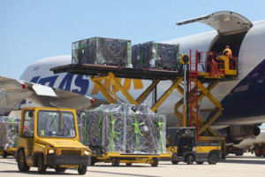 entrega aérea e segurança