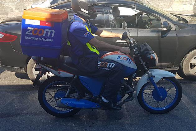 Zoom Entregas Rápidas oferece motoboy para empresas