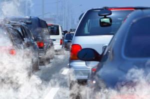 diminuição dos gases poluentes