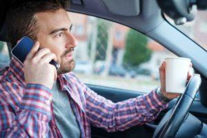celular e acidentes de trânsito no Brasil