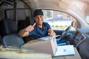 Como o serviço de courier é realizado