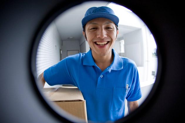 Como funciona a entrega porta a porta