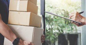 serviço de entregas com contrato mensal
