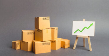 indicadores de desempenho logístico em gráfico